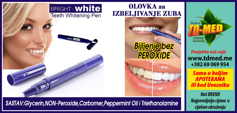 Sredstvo za izbeljivanje zuba lilly